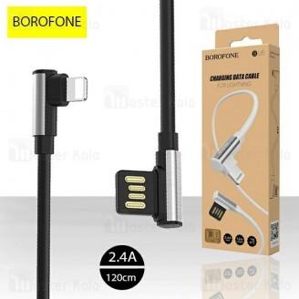 کابل لایتنینگ بروفون Borofone BU5 Charging Cable توان 2.4 آمپر