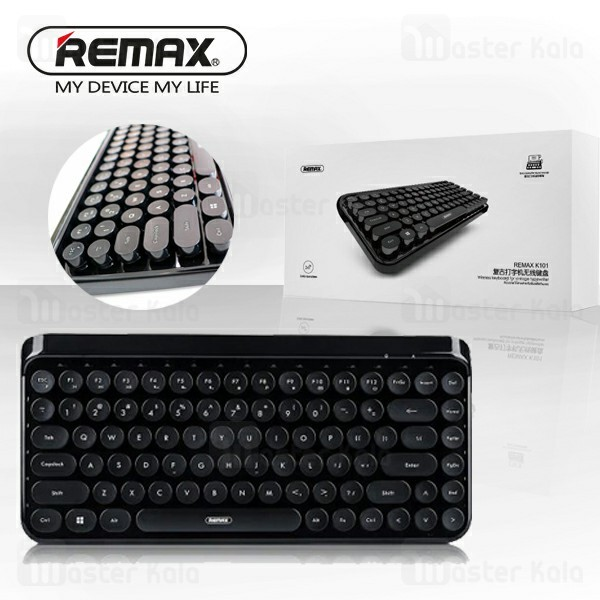 کیبورد وایرلس ریمکس REMAX K101 Wireless 2.4G Wireless Keyboard