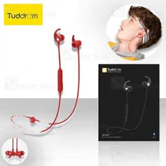 هندزفری بلوتوث تادروم Tuddrom SP400 Bluetooth Earphone IPX5 طراحی مگنتی