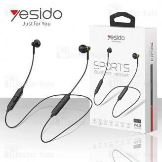 هندزفری بلوتوث یسیدو Yesido YSP04 Sport Bluetooth Headset طراحی گردنی