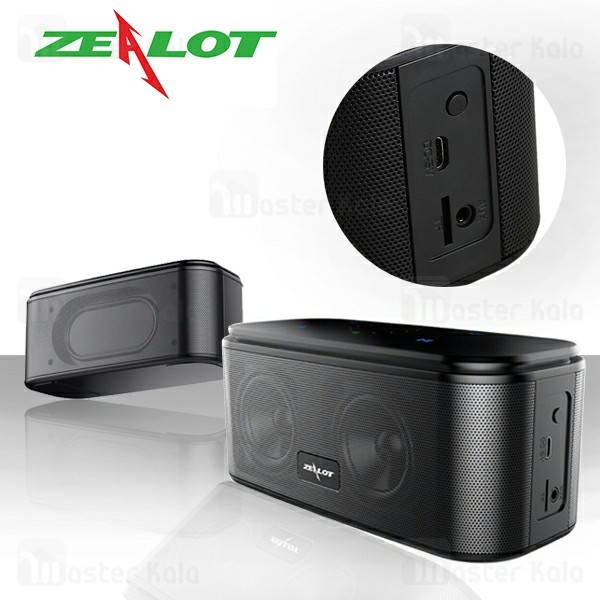 اسپیکر بلوتوث زیلوت Zealot S25 Touch Panel Bluetooth Speaker 6W