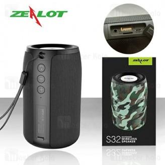 اسپیکر بلوتوث زیلوت Zealot S32 Bluetooth Speaker 5W
