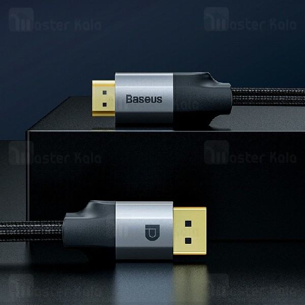 کابل HDMI بیسوس Baseus DP Male To HDMI Male 4K CAKSX-H0G