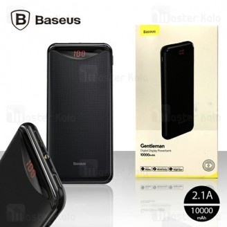 پاوربانک 10000 بیسوس Baseus Gentleman Power Bank PPLN-A01 دارای چراغ قوه