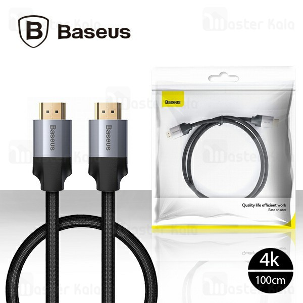 کابل HDMI بیسوس Baseus Quality Life Efficient Work 4K CAKSX-B0G طول 1 متر