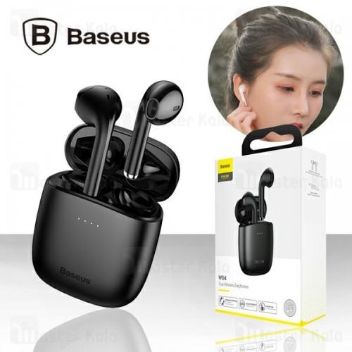 هندزفری بلوتوث دوتایی بیسوس Baseus W04 True Wireless Earphone NGW04 طرح ایرپاد
