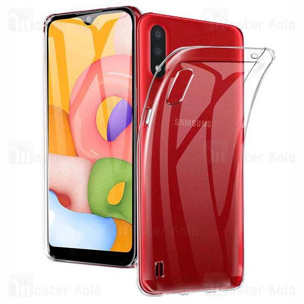 قاب ژله ای سامسونگ Samsung Galaxy A01 / A015 COCO Clear Jelly