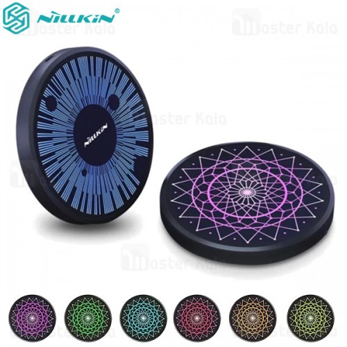 شارژر وایرلس نیلکین Nillkin PowerColor Fast Qi Wireless Charger توان 15 وات