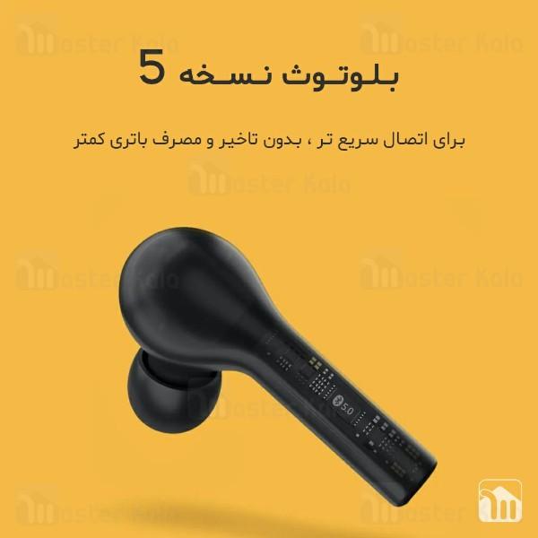 هندزفری بلوتوث دوگوش کیو سی وای QCY T5 IPX5 CVC Earbuds