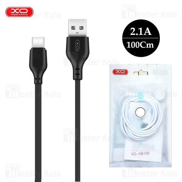 کابل تایپ سی ایکس او XO NB103 Data Charging Cable توان 2.1 آمپر
