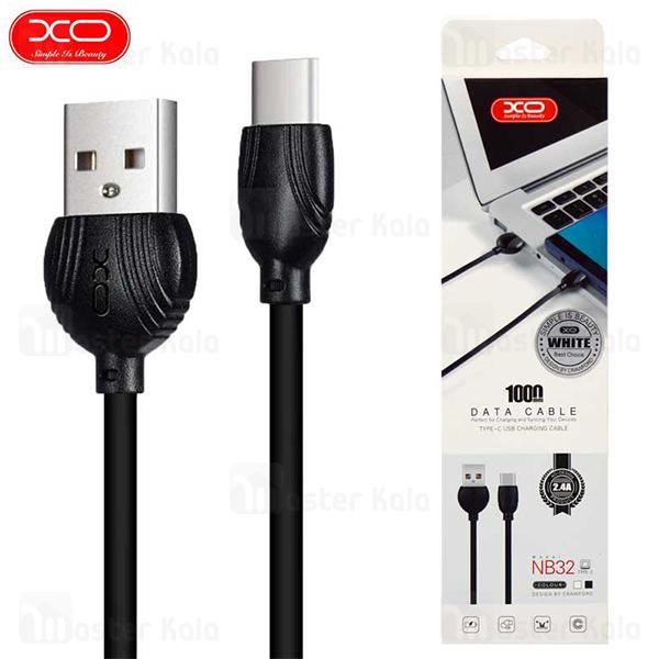 کابل Type C ایکس او XO NB32 Data Charging Cable توان 2.4 آمپر