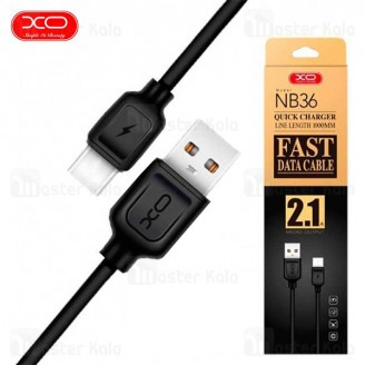 کابل  Type C فست شارژ ایکس او XO NB36 Data Charging Cable QC توان 2.1 آمپر