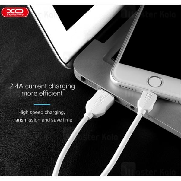 کابل لایتنینگ ایکس او XO NB9 Data Charging Cable توان 2.4 آمپر