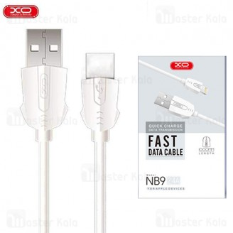 کابل  Type C فست شارژ ایکس او XO NB9 Data Charging Cable QC توان 2.4 آمپر