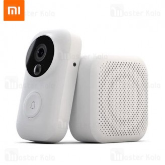 زنگ در هوشمند شیائومی Xiaomi Doorbell FJ01MLTZ AI Face Identification 720P Night Vision Video