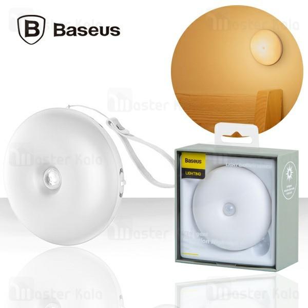 چراغ هوشمند شارژی بیسوس Baseus Light Garden Nightlight DGYUA-LA02 دارای سنسور نور و حرکت