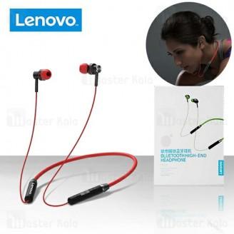 هندزفری بلوتوث لنوو Lenovo HE06 Circle Iron Wireless Bluetooth طراحی مگنتی