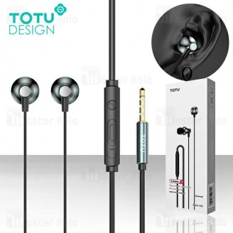 هندزفری سیمی توتو TOTU EAUA-030 Metal Wired Headset