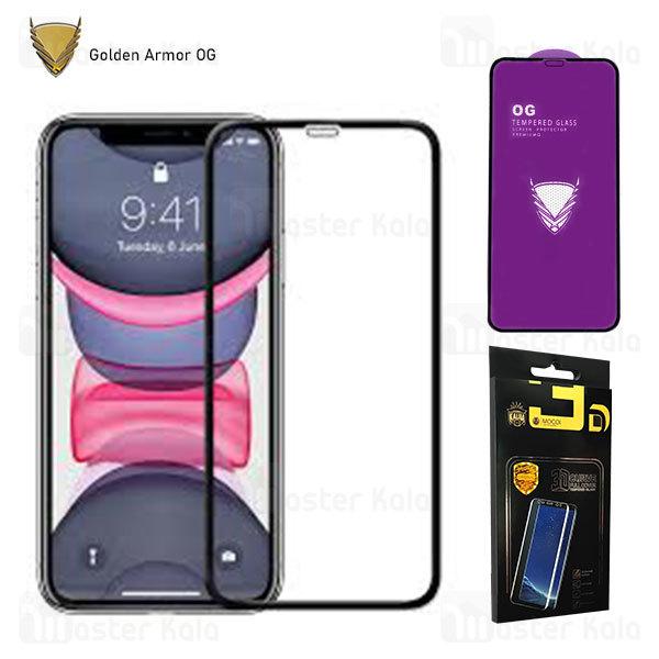 محافظ صفحه شیشه ای تمام صفحه تمام چسب OG اپل Apple iPhone 11 Pro / Xs / X OG 2.5D Mocol Glass
