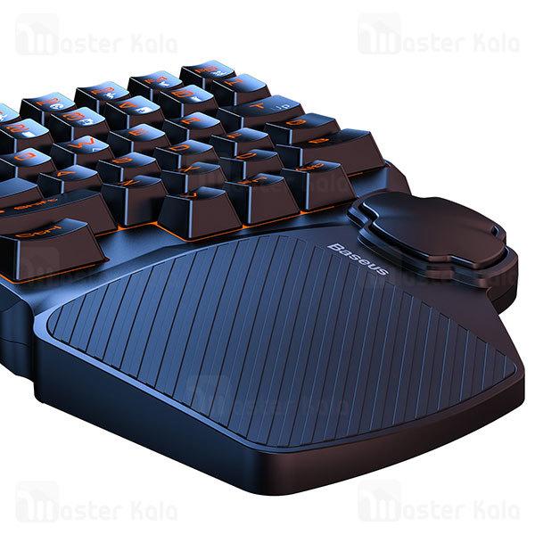 کیبورد گیمینگ Baseus GAMO One-Handed Gaming Keyboard GMGK01-01