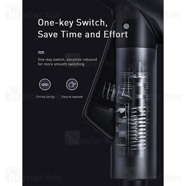 شلنگ و نازل کارواش Baseus Car Wash Spray Nozzle CRXC01-B01 طول 15 متری