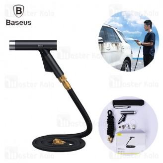 شلنگ و نازل کارواش Baseus Car Wash Spray Nozzle CRXC01-A01 طول 7.5 متری