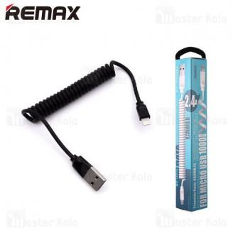 کابل لایتنینگ ریمکس Remax RC-117i Radiance Pro توان 2.4 آمپر و طراحی تلفنی