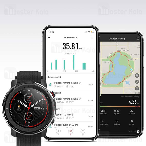ساعت هوشمند شیائومی Xiaomi AmazFit Stratos 3 Smart Band نسخه گلوبال