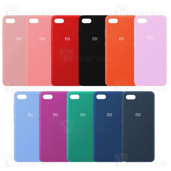 قاب سیلیکونی شیائومی Xiaomi Redmi 6 Silicone TPU Case Close Down