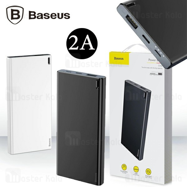 پاوربانک 10000 میلی آمپر بیسوس Baseus Choc PPALL-QK1G Power Bank توان 2 آمپر