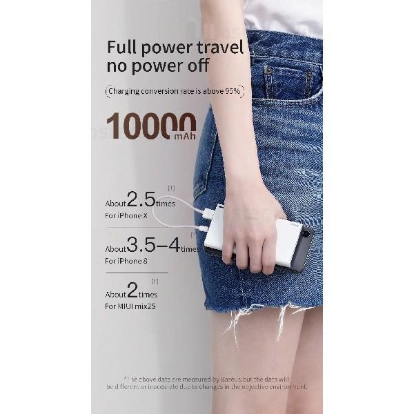 پاوربانک 10000 میلی آمپر بیسوس Baseus Choc PPALL-QK1G Power Bank توان 2 آمپر