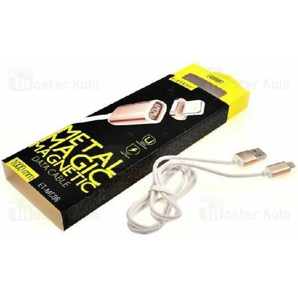 کابل مگنتی لایتنینگ ارلدام Earldom ET-MC06 Magnetic Cable توان 2.4 آمپر