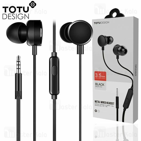 هندزفری سیمی توتو TOTU EAUA-014 IN-EAR Wired Earphone