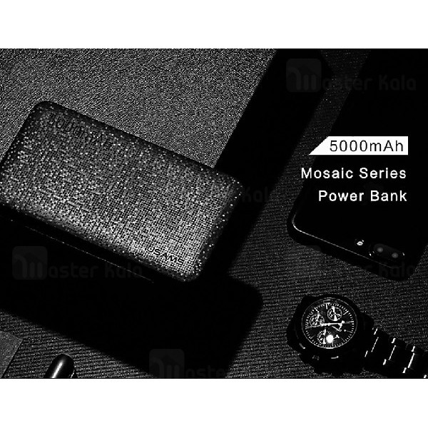 پاوربانک 5000 میلی آمپر یوسامز USAMS US-CD20 Power Bank توان 2.1 آمپر