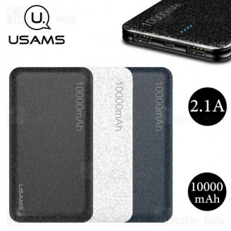 پاوربانک 10000 میلی آمپر یوسامز USAMS US-CD21 Power Bank توان 2.1 آمپر