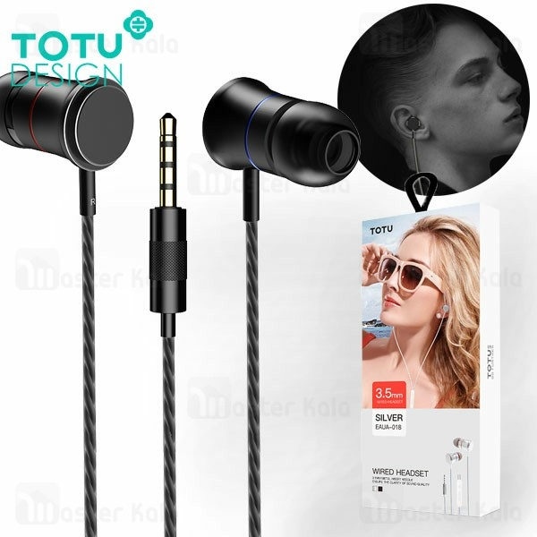 هندزفری سیمی توتو TOTU EAUA-018 IN-EAR Wired Earphone
