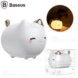 چراغ خواب بیسوس Baseus Kitty Night Light DGAM-A02 طرح گربه