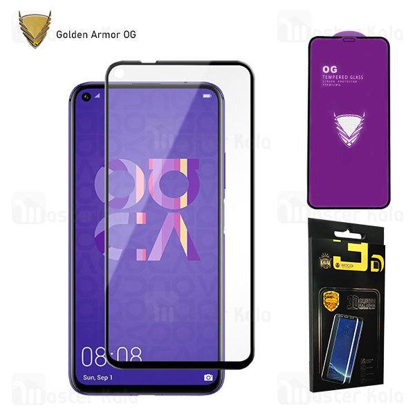 محافظ صفحه شیشه ای تمام صفحه تمام چسب OG هواوی Huawei Nova 5T / Honor 20 / 20 Pro OG 2.5D Mocol Glass