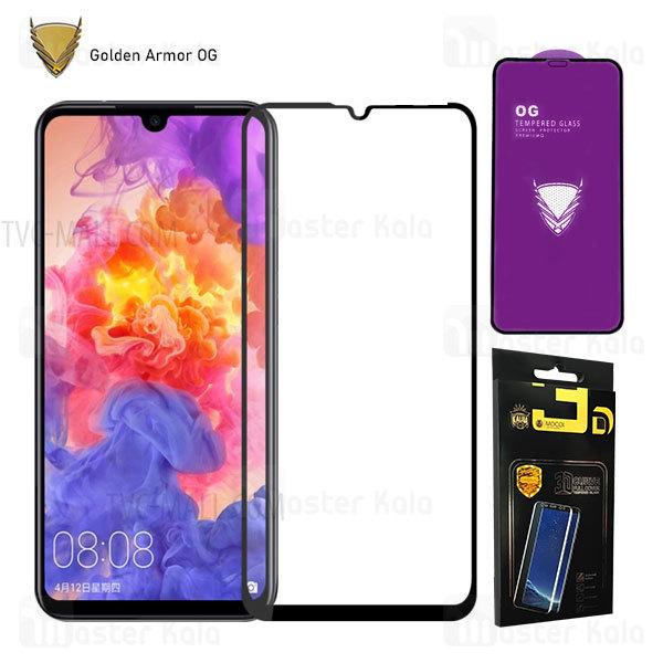 محافظ صفحه شیشه ای تمام صفحه تمام چسب OG هواوی Huawei P30 lite / Nova 4e OG 2.5D Mocol Glass