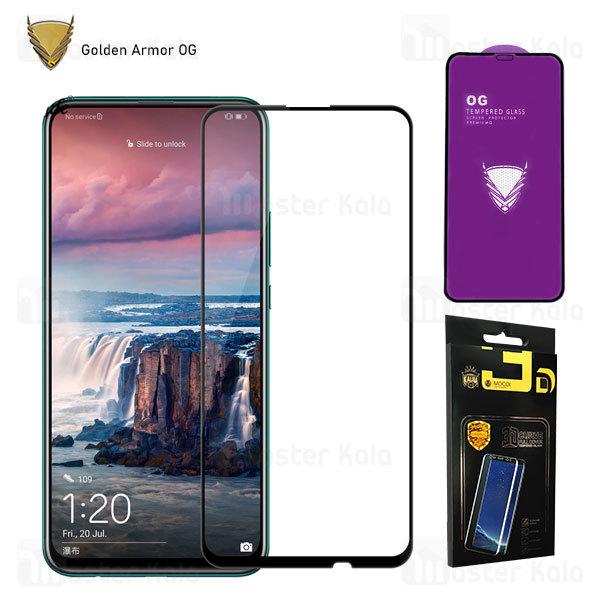 محافظ صفحه شیشه ای تمام صفحه تمام چسب OG هواوی Huawei Y9s / Y9 Prime 2019 / Honor 9x / 9x Pro OG 2.5D Mocol Glass