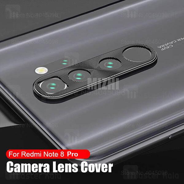 محافظ لنز فلزی دوربین موبایل شیائومی Xiaomi Redmi Note 8 Pro Alloy Lens Cap