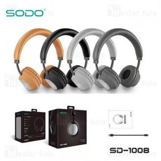هدفون بلوتوث سودو SODO SD-1008 Bluetooth Headphones رم خور