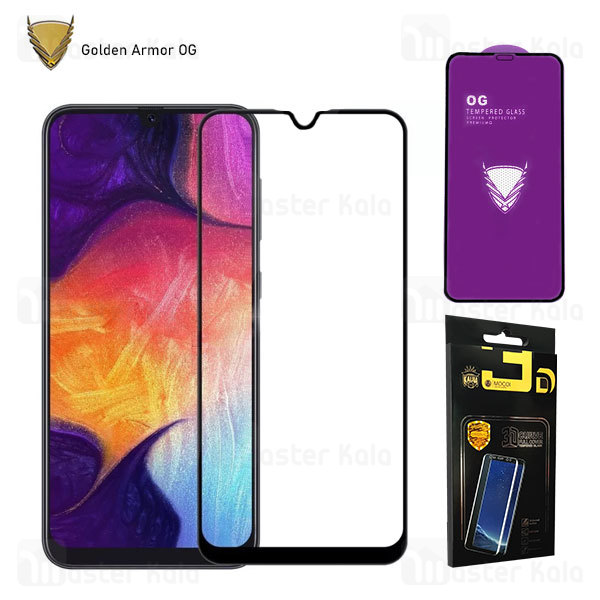 محافظ صفحه شیشه ای تمام صفحه تمام چسب OG سامسونگ Samsung Galaxy A10 / A10s / M10 OG 2.5D Mocol Glass
