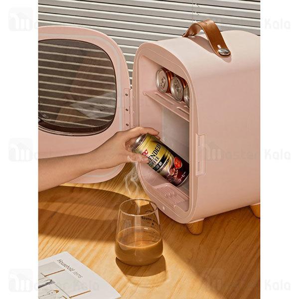 مینی یخچال و  گرم کن بیسوس Baseus Zero Space Refrigerator CRBX01-02 با ظرفیت 8 لیتر