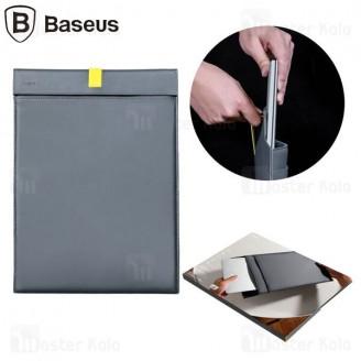 کیف چرمی بیسوس Baseus Let's Go Traction Computer Liner Bag LBQY-AGY سایز 13 اینچ