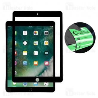محافظ صفحه نانو سرامیک تمام صفحه و تمام چسب اپل آیپد Apple iPad Pro 10.5 2017 Mocol Glass