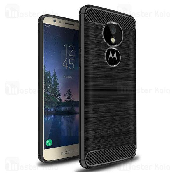 قاب محافظ ژله ای موتورولا Motorola Moto E5 Plus Rugged Armor Fiber Carbon