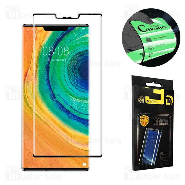 محافظ صفحه خمیده نانو سرامیک تمام صفحه و تمام چسب هواوی Huawei Mate 30 Pro Mocol Glass