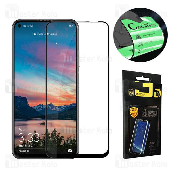محافظ صفحه نانو سرامیک تمام صفحه و تمام چسب هواوی Huawei P40 Lite / Nova 6 SE / Nova 7i Mocol Glass