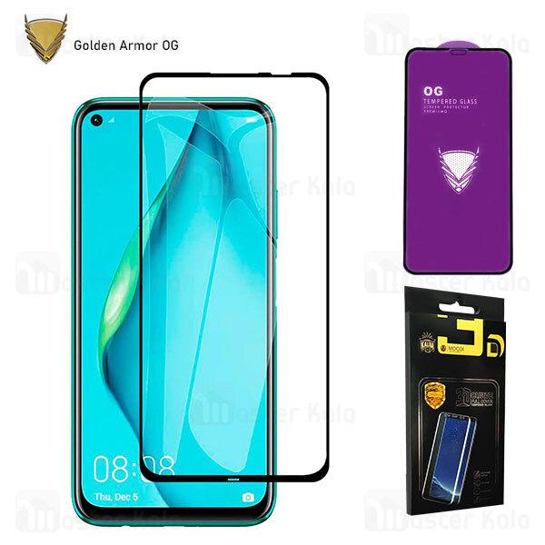 محافظ صفحه شیشه ای تمام صفحه تمام چسب OG هواوی Huawei P40 Lite / Nova 6 SE / Nova 7i OG 2.5D Mocol Glass